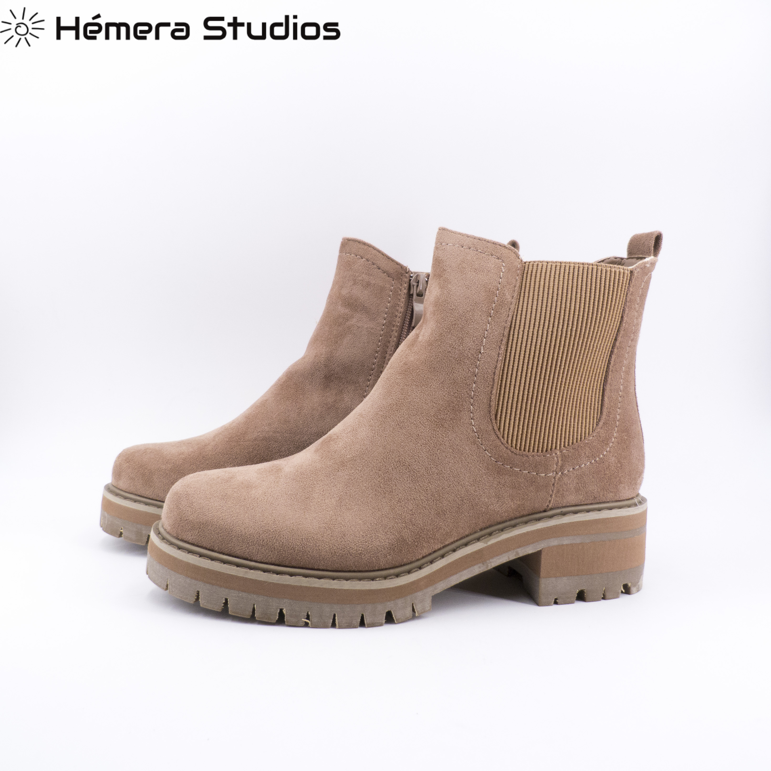 Booties Women Inverno With Chelsea Platform Ankle Boot Botas Mujer Comfortable With Zipper Available In Black And Khaki