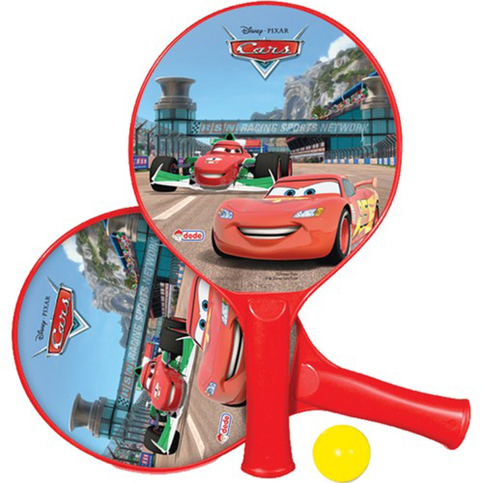 Ebebek Cars Baby Racket Toy Set