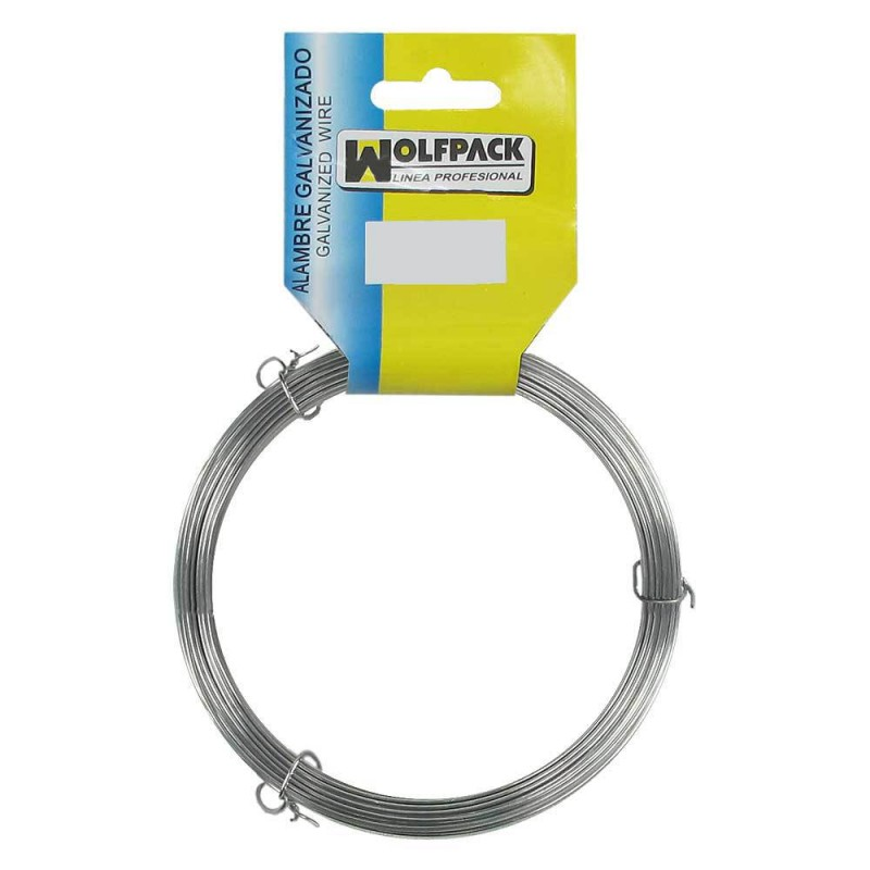 Galvanized Wire (Roll 500 Grams) NOT 1/0, 6mm.