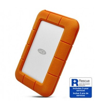LACIE RUGGED THUNDEDRBOLT 5TB DISCO DURO TIPO C USB 3.1