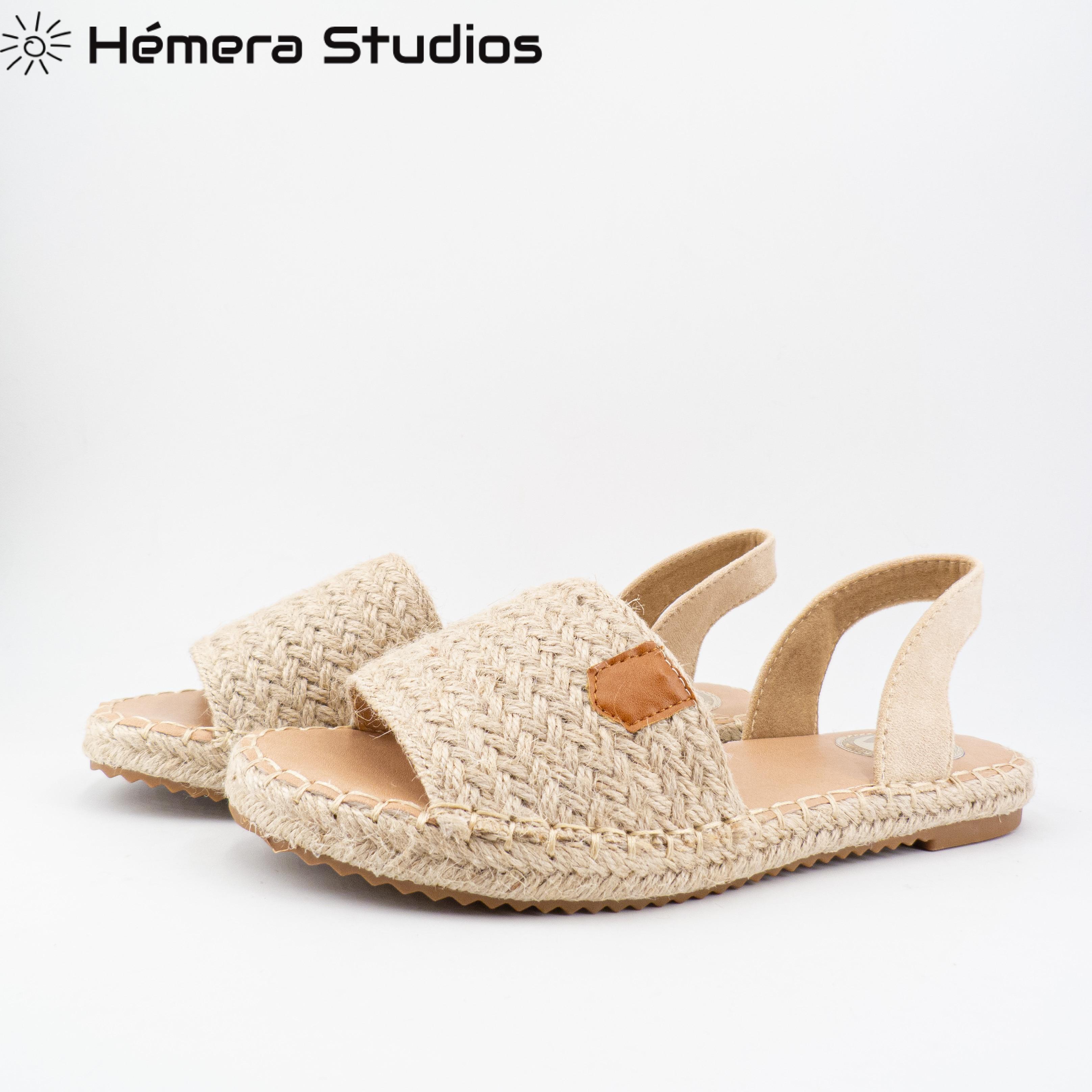 WOMAN Sandals 2020 SUMMER Menorquina ESPARTOS BUCKLE Platform Wedge Beach Open Espadrille Animal Print Multicolor