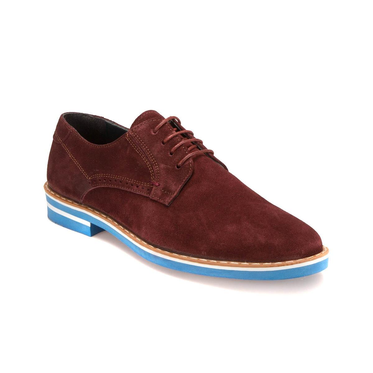 FLO PRG-24 M 6683 Burgundy Men 'S Modern Shoes JJ-Stiller