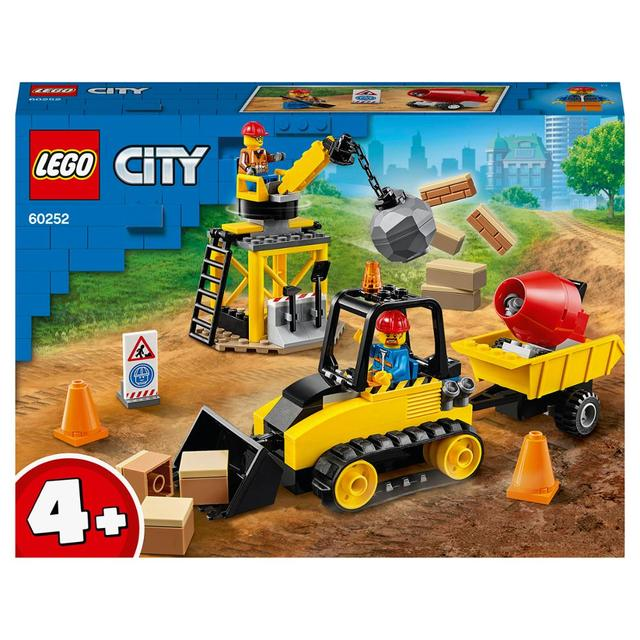 Конструктор LEGO City Great Vehicles Строительный бульдозер