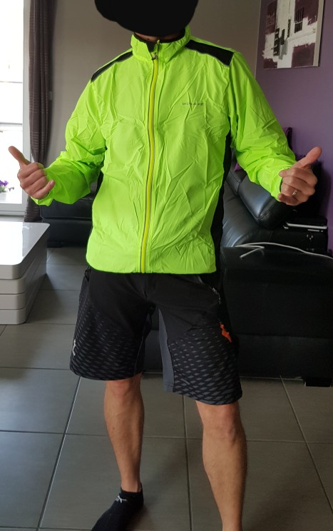 Men's Sport Windproof Jacket photo review