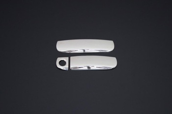 For Audi A3 8P Accessories 2004-2007 Audi A3 8P Accessories Chrome Door Handle Chrome Stainless Steel 2 Door