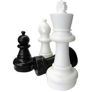 Гигантские шахматные фигуры 63 см. Гигантские шахматы высота короля 63 см. Эта гигантская игра рекомендуется для использования на открытом во...