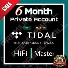 Tidal HiFi Master [6 Month Private Acc] ❌Share❌ [Premium Promotion]