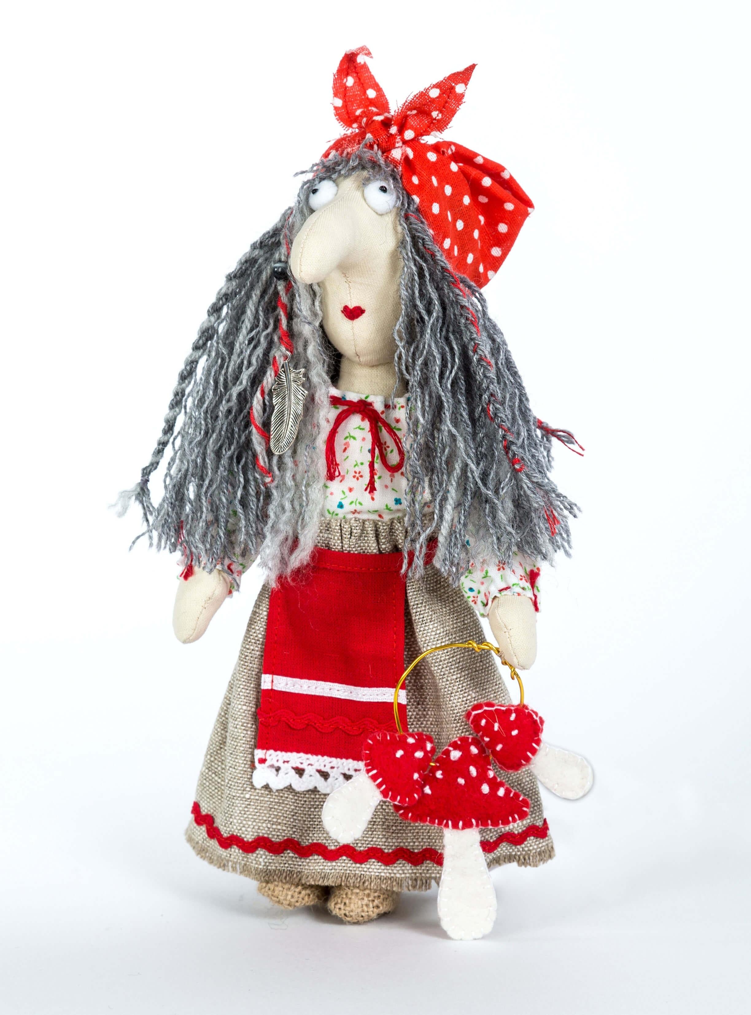 Set For Making Textile Doll Перловка ПЛДК-1453