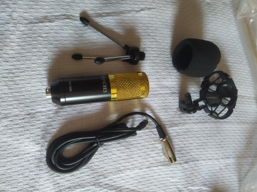 Microfone Condensador BM 800 + Kit Completo 100% Original photo review