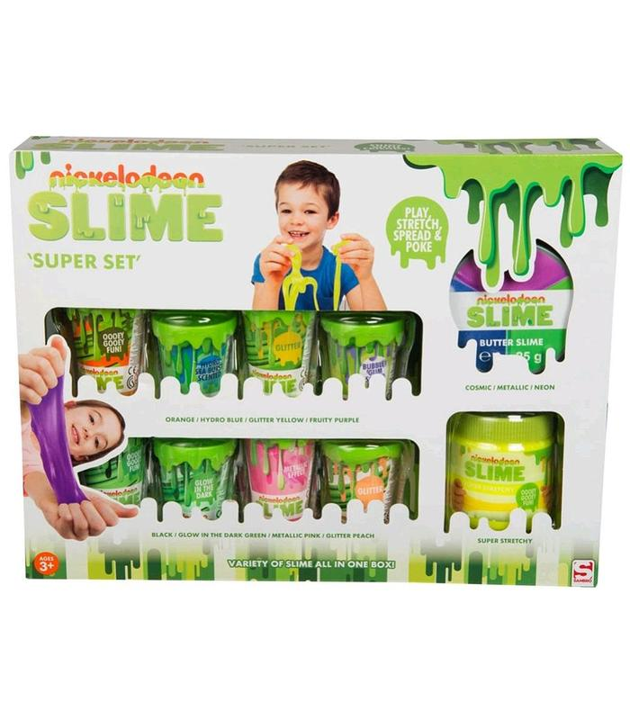 Super Slime 12 PCs Toy Store Articles Created Handbook