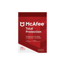 Устройство McAfee LiveSafe 2020/2021, 1 год, 1 год