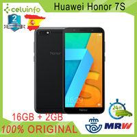 Huawei Honor 7S 16G + 2G RAM, Pean Version, DUAL SIM + Micro SD Slot, 5.45 , Black New 2 Years Warranty Sent from Spain