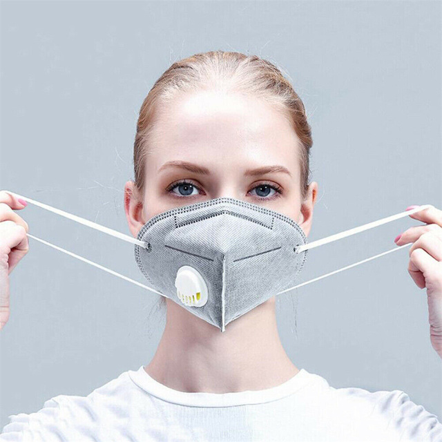 3 Colors KN95 Valve Mask 5 Layer Flu Anti Infection N95 Protective Masks ffp2 Respirator PM2.5 Safety Same As KF94 FFP3 1