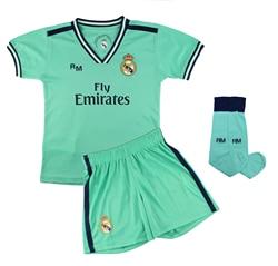 Conjunto Completo Infantil Реал Мадрид, официальный авторизатор в Ла-терсера, оборудование, височка 2019-2020