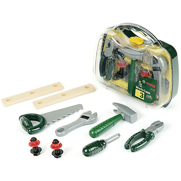 Game Set Klein Bosch Tools Tool Box, 12 Pieces
