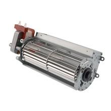 Тангенциальный поперечный поток воздуходувки вентилятора мотор-60x180 мм