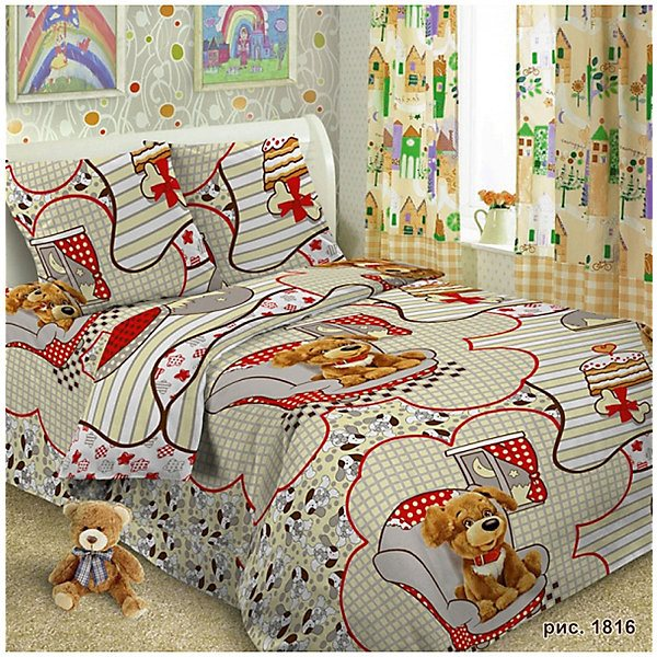 Baby Bedding 1,5 CN Letto, Тузик MTpromo