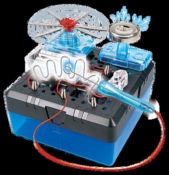 Doble Laberinto electrico connex educativo, funcional y facial a armar