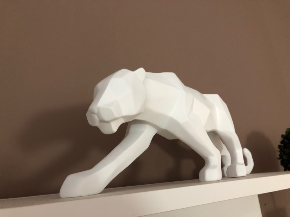Panther Resin Statue photo review