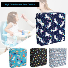 Booster Seat Dining-Chair Baby Cushion Infant Cartoon Square Print Universal Soft