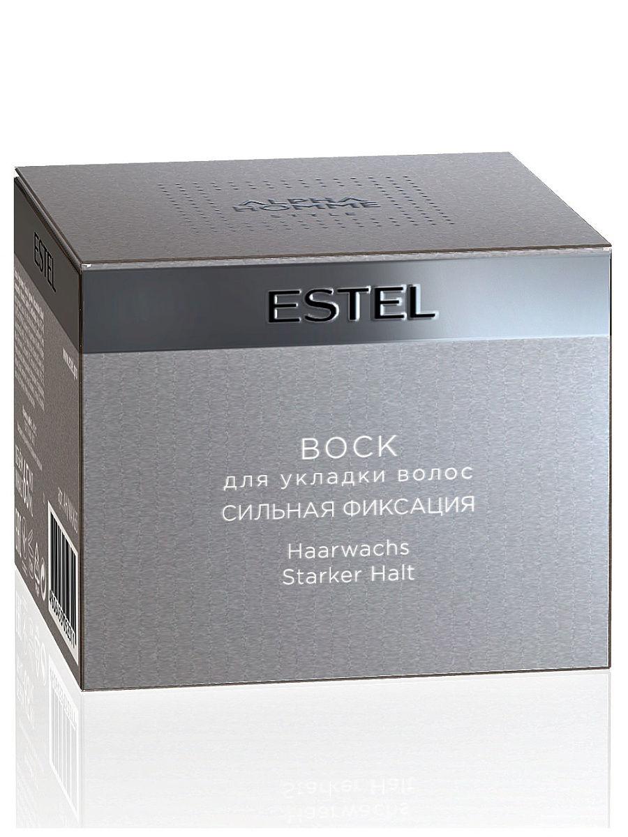 Воск для укладки волос сильная фиксация ESTEL ALPHA HOMME, 65 мл