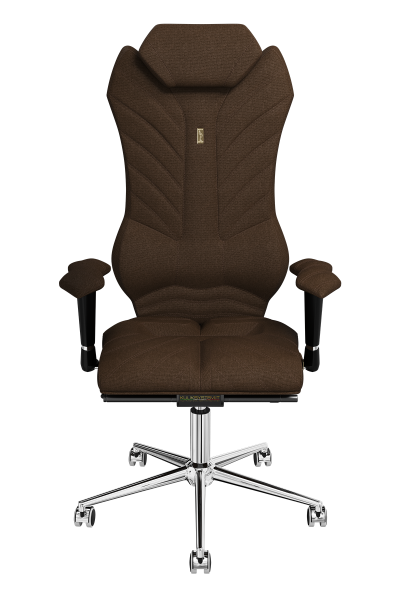 Office Chair KULIK SYSTEM MONARCH Chocolate Computer Chair Relief And Comfort For The Back 5 Zones Control Spine
