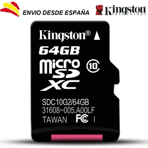 Time memory cards microsd Kingston SDHC 64 hard GB Class 10 micro sd 64 hard GB