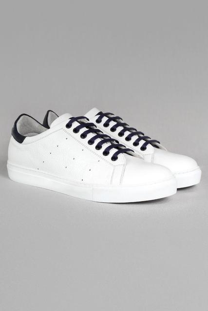 Callizio Men's Genuine Leather Sneaker