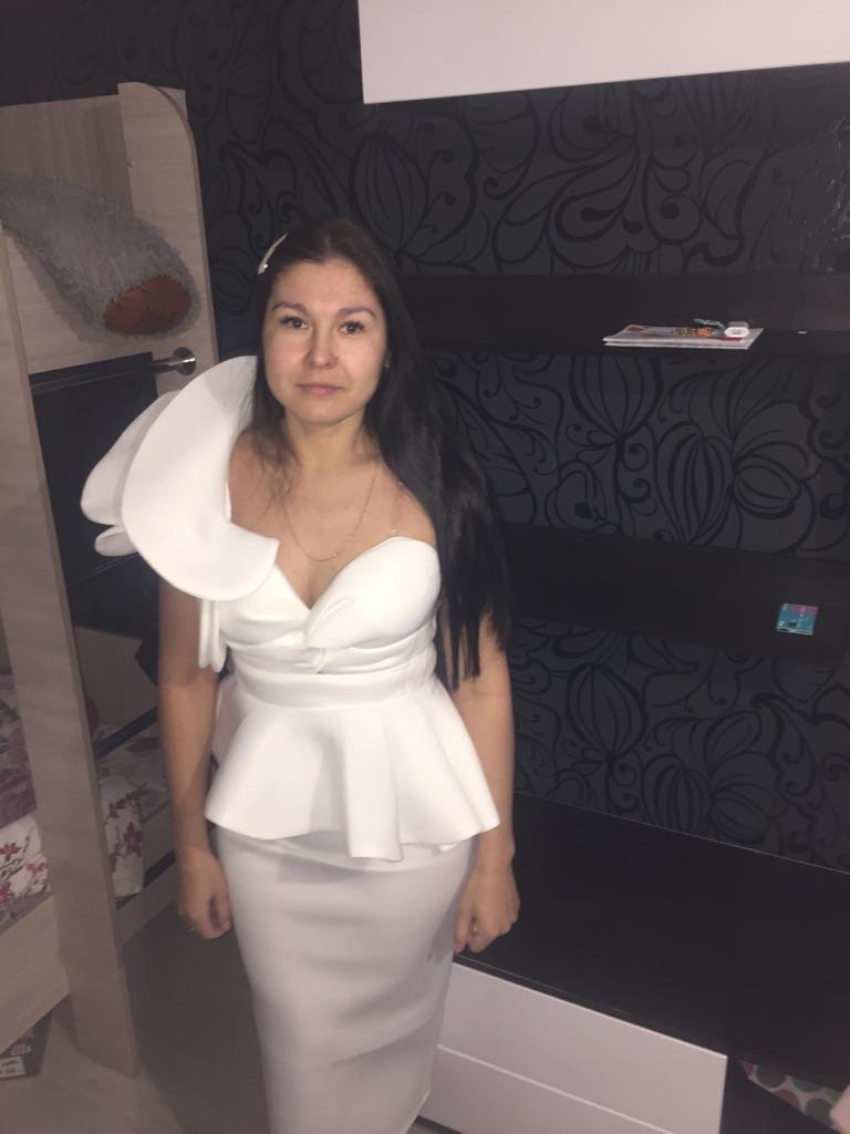 Missord 2020 Women Sexy Bodycon Off Shoulder Bandage Dresses Female Ruffles Backless Elegant Club Summer Dress Vestido TB0020 reviews №3 611681