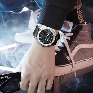 Image 5 - DOM montre de Sport pour hommes, horloge à Quartz, marque de luxe, étanche, style M 1229L 1M2