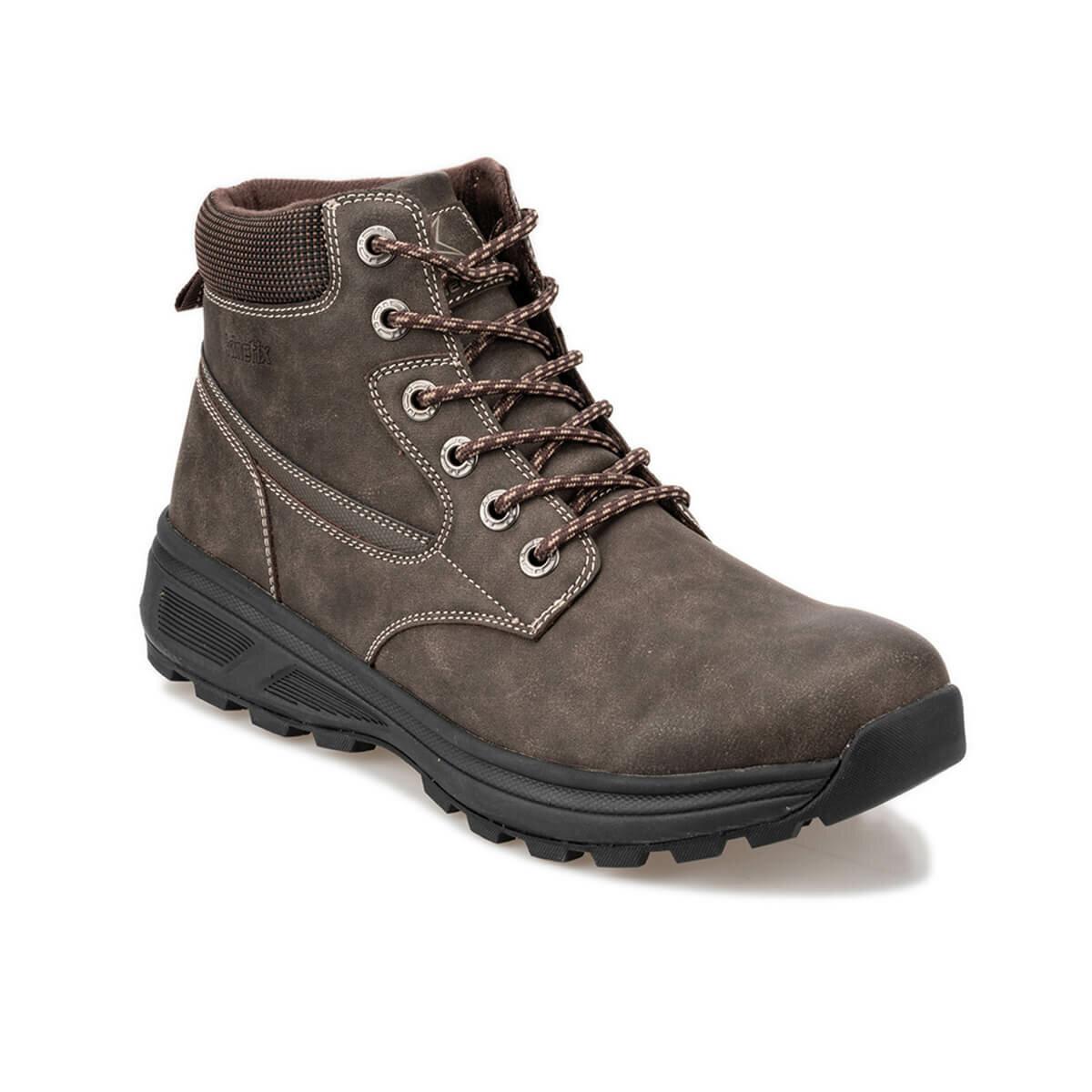 FLO SANEL HI 9PR Brown Men Boots KINETIX