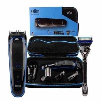 Braun máquina de afeitar eléctrica MGK3980 LED NEGRO/cuidado personal/afeitadora electrica hombre/afeitadora barba/máquina...