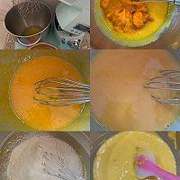 双色南瓜戚风蛋糕组织巨细腻 柔软的做法图解1