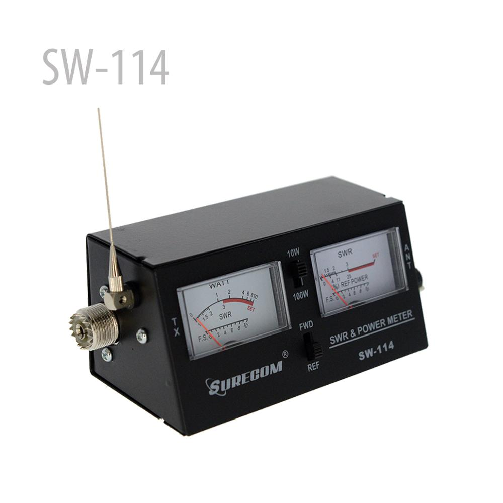 SURECOm SW-114 SWR/RF/Field Strength Test Meter (126372)