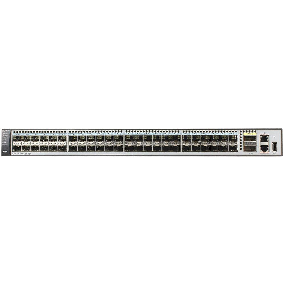 S6720-54C-EI-48S-AC Network Switch 48*10GE SFP+, 2*40GE QSFP+ ports 5