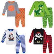 Boys Pajamas Pyjama Kids Girls Christmas Pajama Sets Toddler Sleepwear Children Pirate Nightwear Child Long Sleeve Winter Pjs