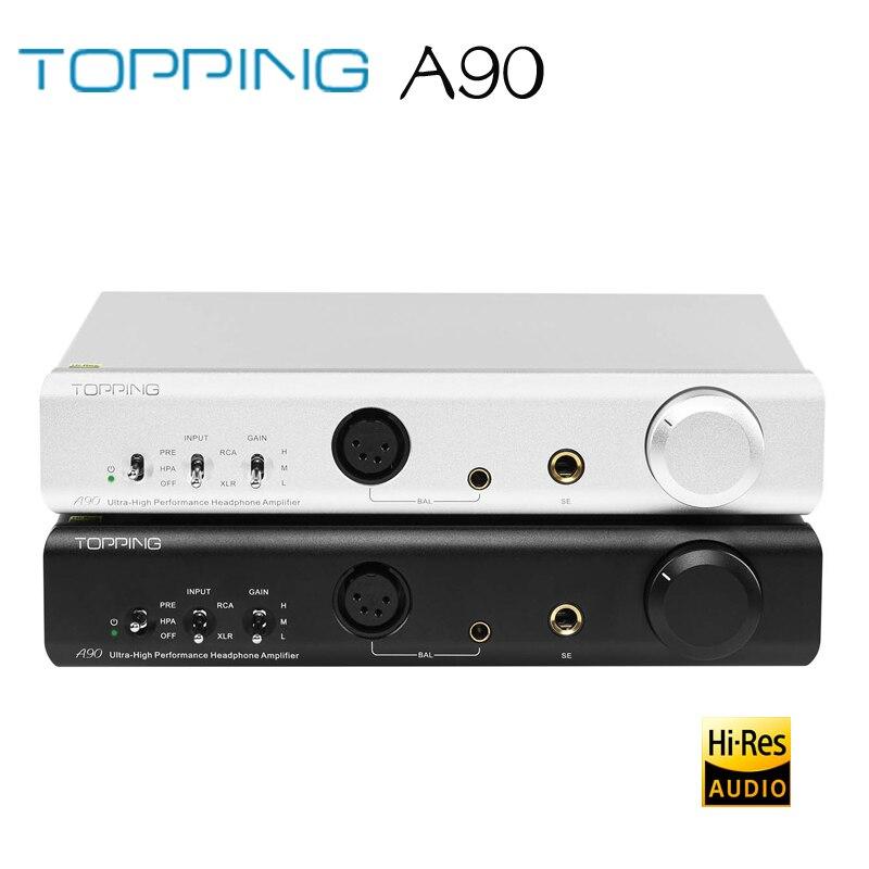 TOPPING A90 Full Balanced Headphone Amplifier XLR Pre-Amplifier