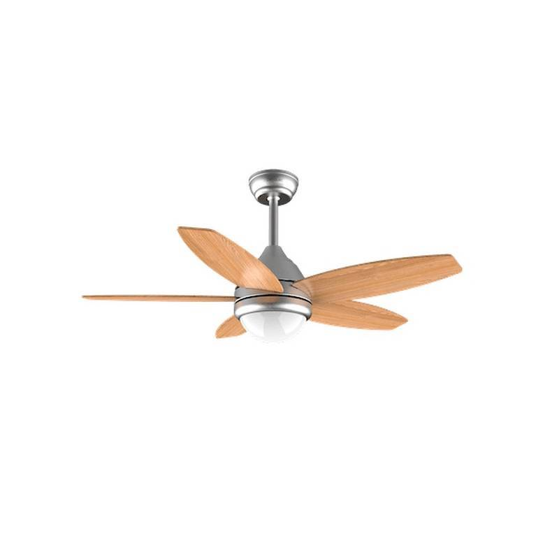 Ceiling Fan With Light Cecotec ForceSilence Aero 490 50W Brown (ø 106 Cm)