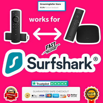Surfshark VPN - 3 YEARS Warranty - No limits - Supports all devices - Great Support