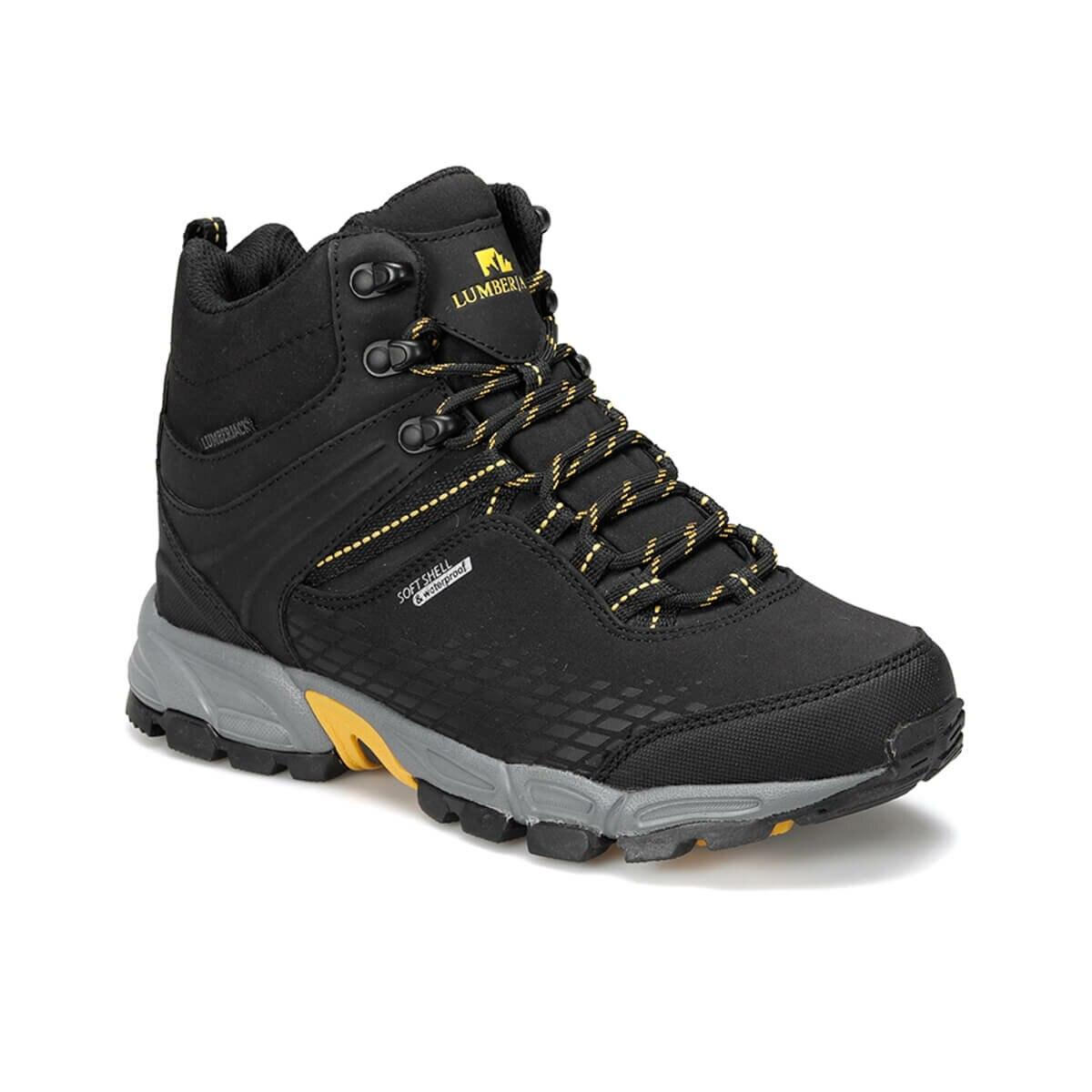 FLO FLAKE G HI 9PR Black Male Child Outdoor Boots LUMBERJACK