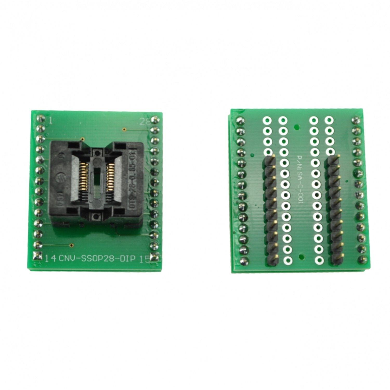 Programmer socket TSSOP20 to DIP20 10pcs hd74ls373p dip20 hd74ls373 dip sn74ls373n 74ls373 new and original ic free shipping