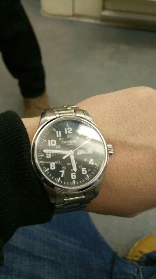 -- Relógio Relógios Homens