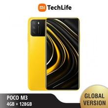 Versão global poco m3 4gb ram 128gb rom (novo/selado) pocom3, poco, telefone móvel