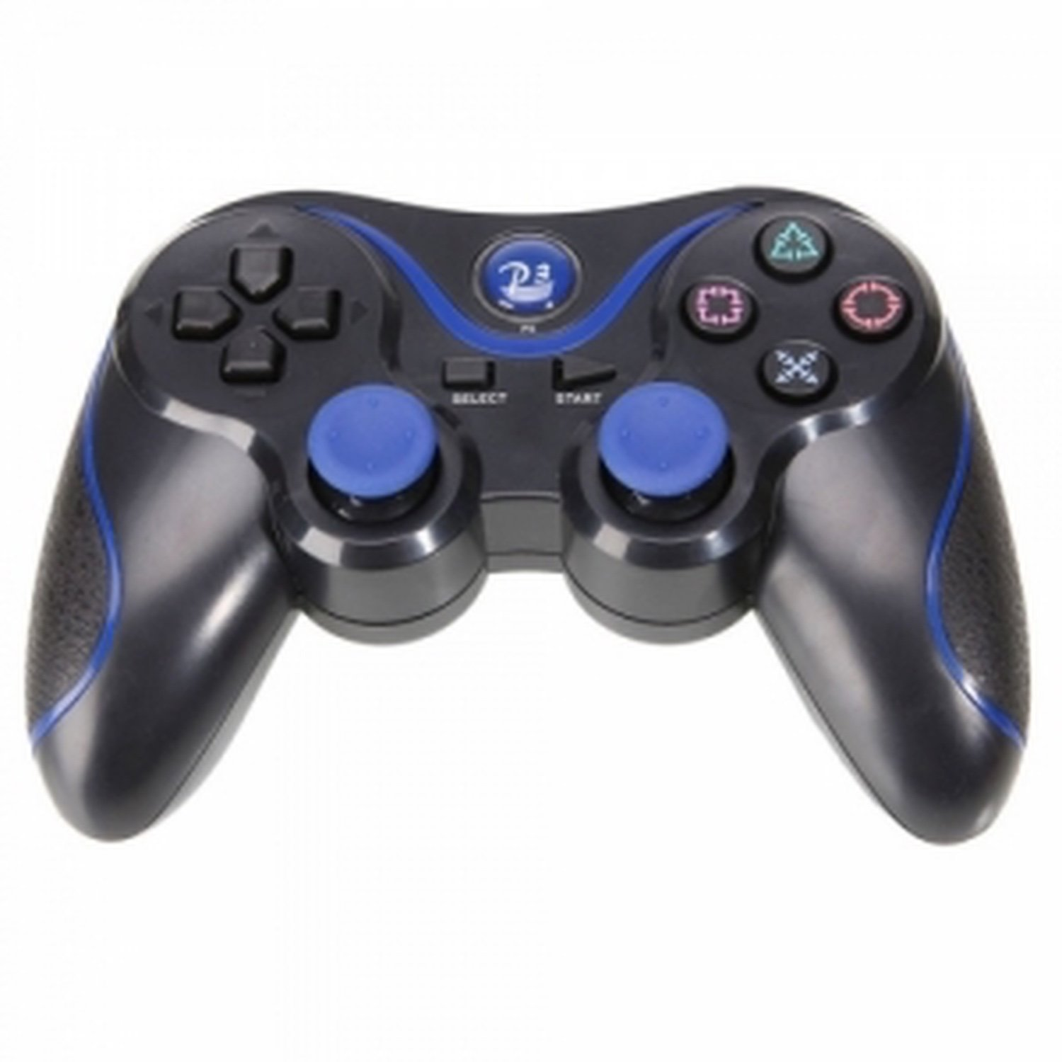 New design blue and black Compatible Controller PS3 Dual Shock 3 Sixaxis все цены