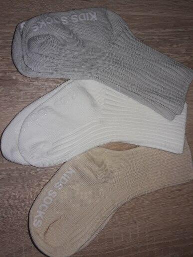 3 Pairs/lot Children's Socks Solid Striped Summer Spring Boy Anti Slip Newborn Baby Socks Cotton Infant Socks For Girls photo review