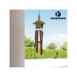 Nadmuchiwany dzwonek Casita bambusowy TakeTokio w Kryształy ogrodowe od Dom i ogród na