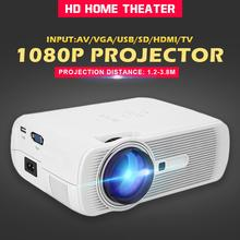 Portable G80 LED LCD Multimedia Video Projector Home Cinema Theater Smart 3D Mov