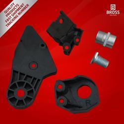 Bross BHL515 Headlight Headlamp Housing 2048201214 Repair Kit Mounting Bracket Right Side for  C-Class W204 2008-2014