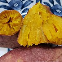 入口即化甜的流蜜的微波炉版烤蜜薯的做法图解9
