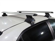TrophyBars système de barres de toit 130cm pour Ford Focus 4 2019 + mécanisme de verrouillage antivol porte-bagages Anti-Corrosion
